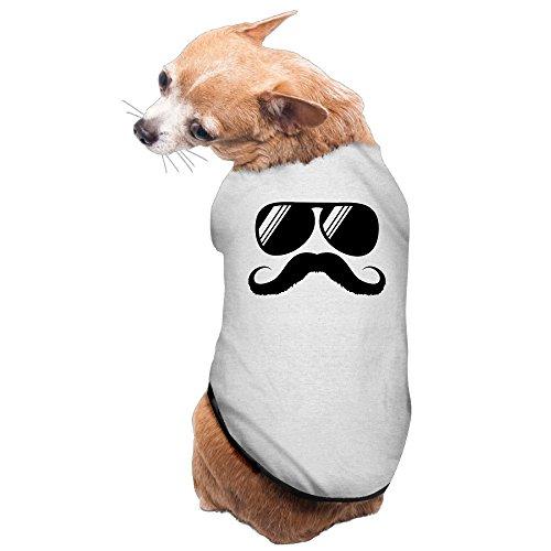 Vgd Mustache Shades Sunglasses And Beard Gray Cool Dog T - Sunglasses Neu