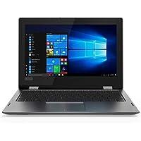 """Lenovo Yoga 330-11IGM - Ordenador portátil Convertible de 11,6"""" HD (Intel Celeron N4000, 2GB RAM, 32GB Almacenamiento, Windows 10) Gris. Teclado QWERTY español"""