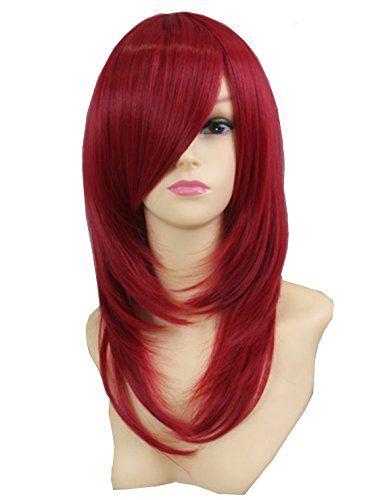 Icose (Red Bouffant Wig)