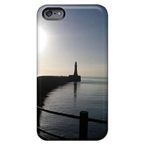 iphone 5c Skin mobile phone carrying cases Snap On Hard Cases Covers Attractive lighthouse