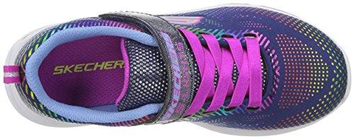 Skechers Kids Girls' Litebeams-Gleam N'DREAM Sneaker, Navy/Multi, 2.5 Medium US Little by Skechers (Image #7)