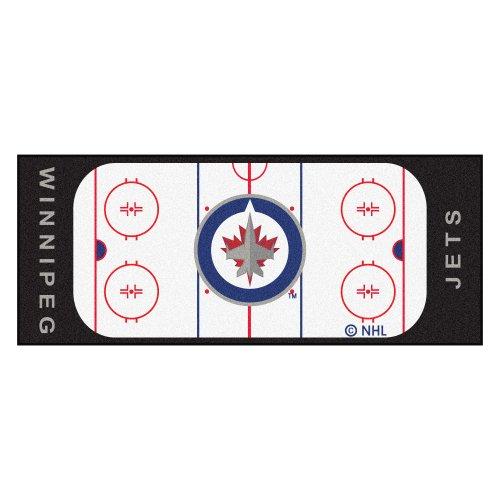 Jet Rink (Fanmats NHL Winnipeg Jets Nylon Face Football Field Runner)