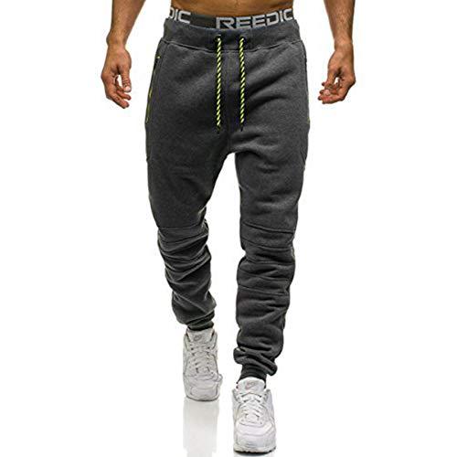 VANVENE Mens Jogger Pants Fleece Sweatpants Jogging Tracksuit Bottoms Trousers M-3XL