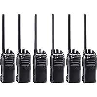 6 Pack of Icom F4011 UHF Analog Two Way Radios PREPROGRAMMED