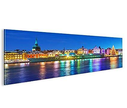 Quadro moderno antiguo de Stockholm de Suecia Panorama ...