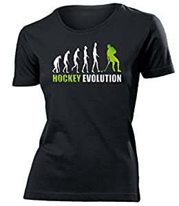 HOCKEY EVOLUTION 618(F-SW-Weiss-Grün) Gr. M