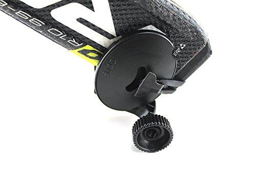 (SKIDDI - ski Accessories Mini Pocket Trolley for Ski - Compatible with All skii - ski Poles -ski Rack - Kickstarter Funded -Black)