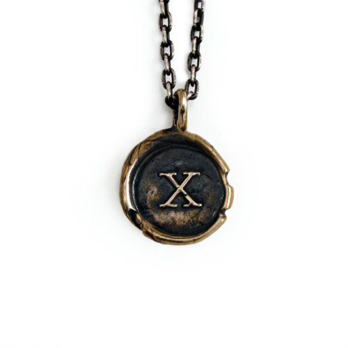 Pennyroyal-Studio-Bronze-Initial-Pendant-Necklace-Letter-X