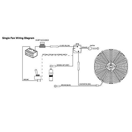 spal 14 curved blade high performance fan 12v puller