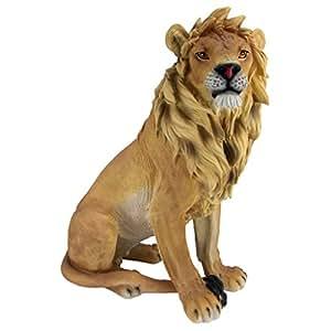 Design Toscano King of Beasts Lion Sculpture
