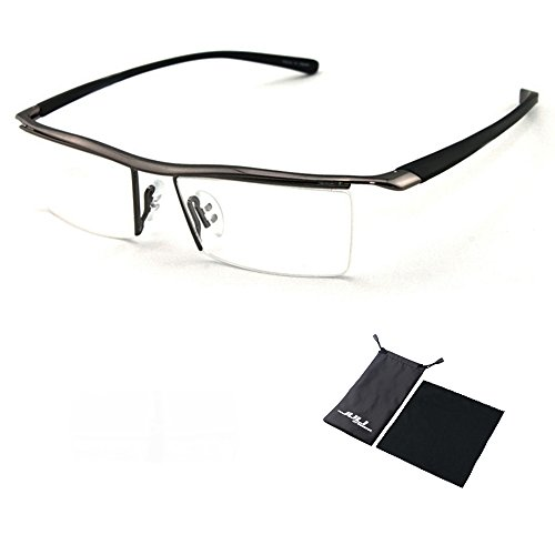 Sports Computer Glasses Readers Reading Video Gaming Glasses of Anti Blue Light Eye Strain Men Tr90 Titanium Myopia Glasses Frame Slip-resistant Eyeglasses - Prescribed Eyeglasses