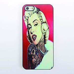 JJELovely Girl Design Metal Hard Case for iPhone 5/S