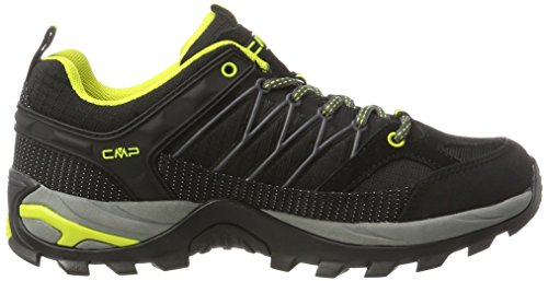 C.P.M. Rigel - Zapatos de Low Rise Senderismo Hombre Negro (Nero)