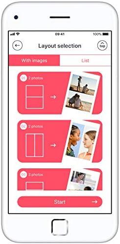 Instax Link Imprimante pour smartphone Rose foncé