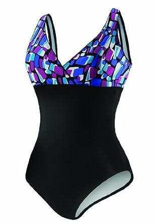 c6fad39d4a Speedo Barbados Geo Empire Border 1pc Swimsuit