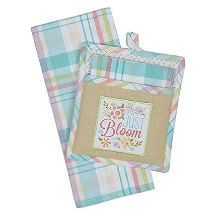 Amazon Kitchen Towel And Potholder Gift Set