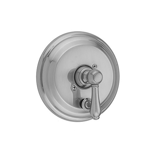 Jaclo A376-TRIM-SN Traditional Round Diverter with Lever, Satin Nickel by Jaclo