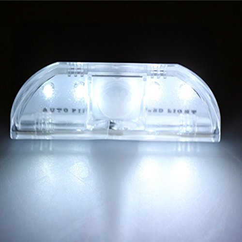 Ipuis Keyhole Light Lamp Pir Infrared Wireless Auto Sensor