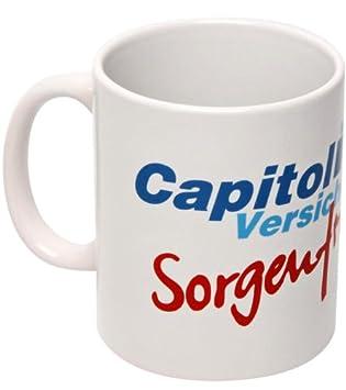 Stromberg Kaffeebecher Capitol Sorgenfrei Amazon De Burobedarf