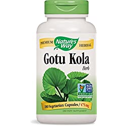 Nature's Way Gotu Kola Herb, 180 Capsules