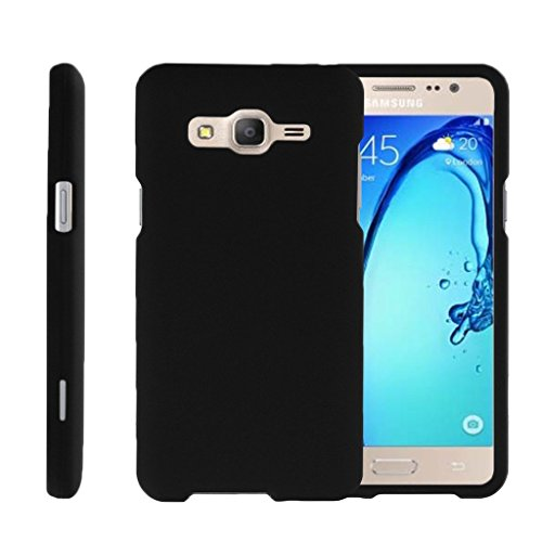 MINITURTLE Case Compatible w/ Miniturtle [ Galaxy O5 Case, Samsung On5 Hard Case, Galaxy O5 Slim Cover] [Snap Shell] 2 Piece Hard Plastic Case Black