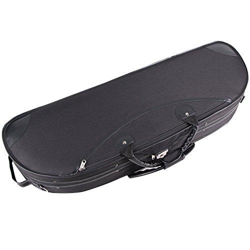 String House SG511B Deluxe Black Violin Case Full Size 4/4