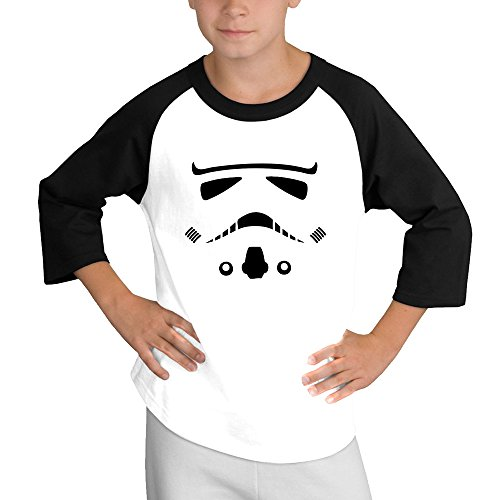 Price comparison product image MULTY9 Trooper Child Youth 3/4 Sleeve T Shirts X-Large
