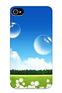 Forever Collectibles Dandelion Near The City Hard Snap-on Iphone 4/4s Case With Design Made As Christmas's Gift