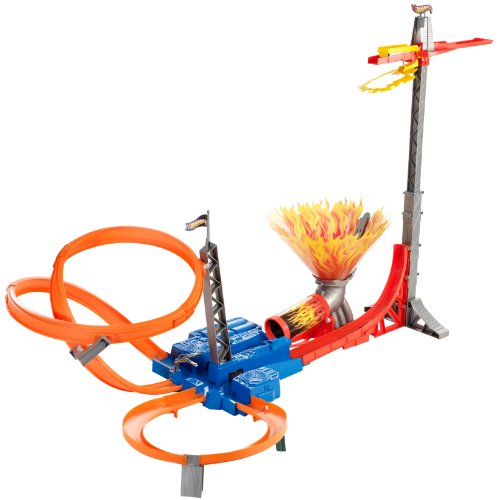 Hot Wheels Sky Jump Track Set -