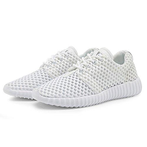 Blanco Verano Zapatos Para de Mujer Planos Elegir Zapatos Desodorante de de de Nan Colores Hay Cinco Malla nxfBgCqCw