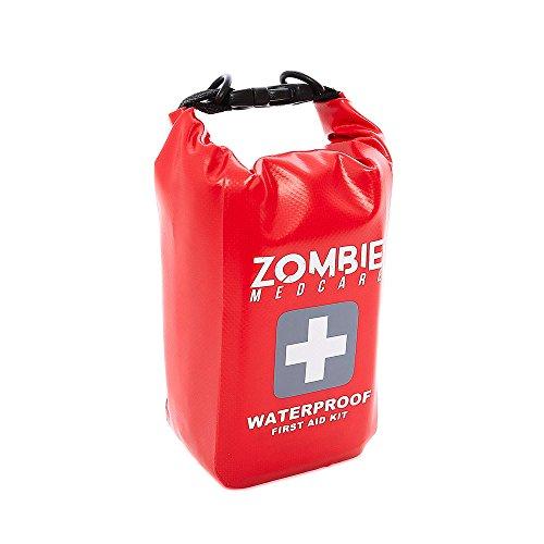 Zombie Medcare klein: 124 teiliges Survival Kit und Erste Hilfe Set: Wasserfeste, leichte Tasche - perfekt geeignet fürs Reisen, Wandern und Campen