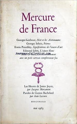 Amazonfr Mercure De France Du 01 05 1963 Georges Limbour