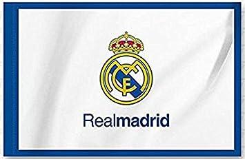 BANDERA REAL MADRID C.F, 0,50 * 0,70 cm: Amazon.es: Juguetes y juegos