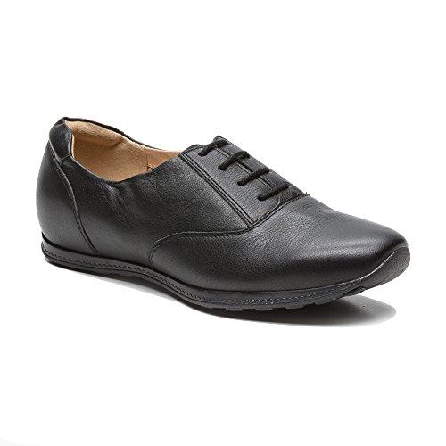 Zerimar cuir Summer Sneakers pour femmes pour Femmes d'été en Chaussures Noir Chaussures femmes Efqpww
