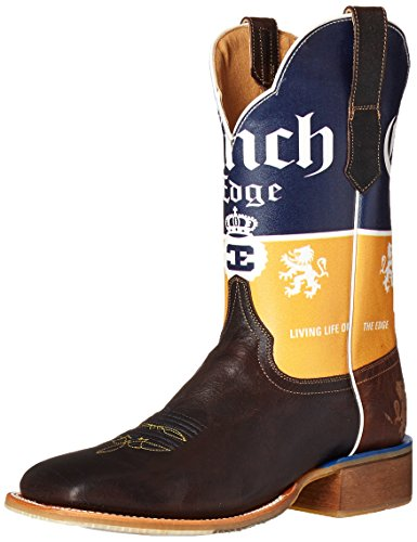 Cinch Kanten Menns Cerveza Riding Boot Sjokolade