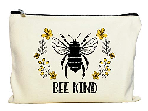 Bee Kind Makeup Bag,