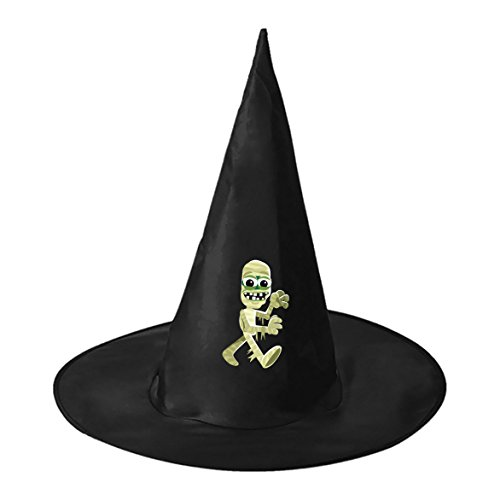 Ligature Mummy Cosplay Witch Hat Toy to Costume Accessory Halloween Ball for Kids Adults