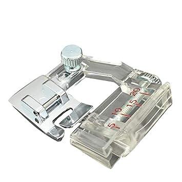 Prensatelas y cintas al bies compatible con máquinas de coser domésticas Brother, Janome, Toyota y Singer: Amazon.es: Hogar