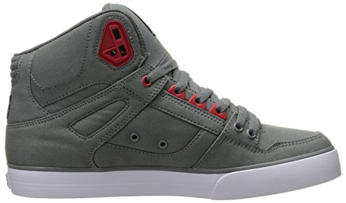 DC Herren-Span Hallo Wc TM Kunst Hallo Schuh, EUR: 40, Grey/Black/Red