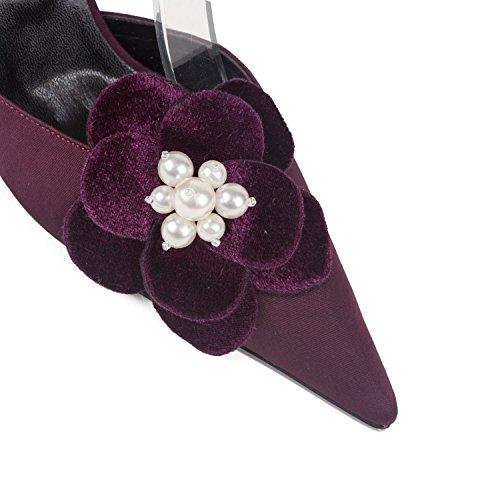 FARFALLA - Zapatos con correa de tobillo mujer Morado - morado