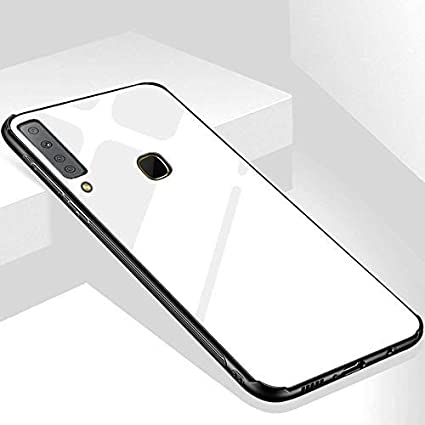 outlet store 63ce3 6e51a KARWAN Glass Back Cover for Samsung Galaxy A9 2018: Amazon.in ...