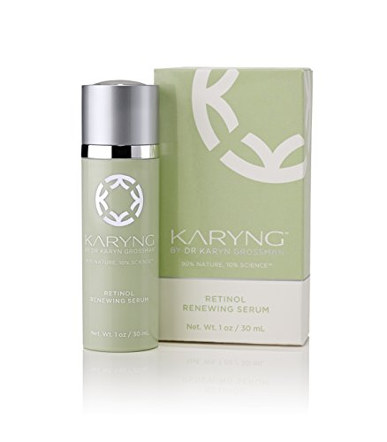 Retinol Renewing Serum by KARYNG - Anti-Aging for Sensitive Skin with Potent Antioxidant & Anti-inflammatory Natural Ingredients to Erase Lines, Wrinkles, Reduce the Appearance of Pores - 1oz / ()
