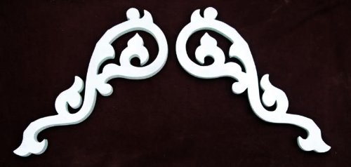 Victorian Gable Set Adjustable Set 26 Inches Long - Victorian Molding