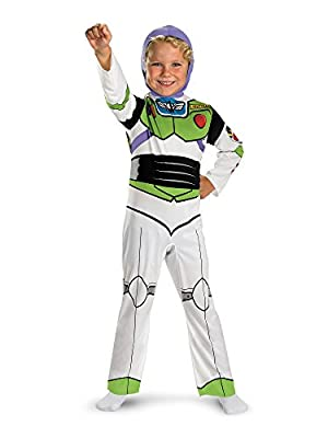 Disguise Buzz Lightyear Boy's Classic Toy Story Costume