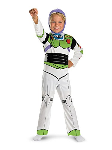 Buzz Lightyear Costume Toy Story - Buzz Lightyear Classic - Size: Child S(4-6)