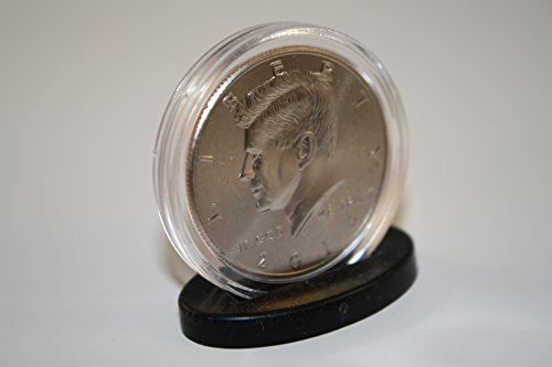 250 Single Coin DISPLAY STANDS for Half Dollar or Quarter Capsules - NEW DESIGN (Single Coin Display Quarter)