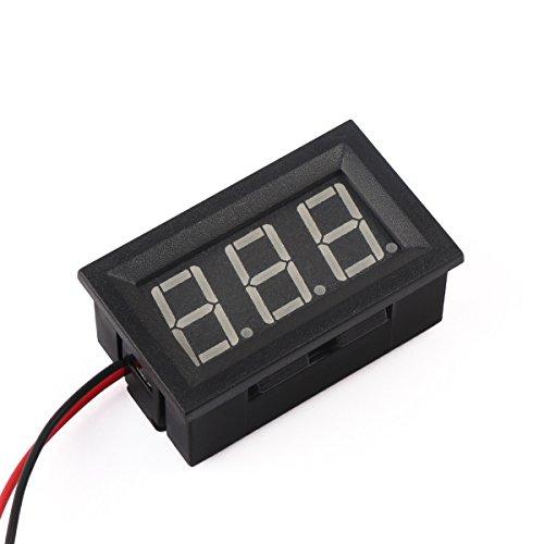 Battery Monitor Panel : Volt digital voltmeter drok quot dc v voltage