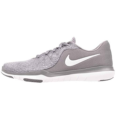 Nike Womens WMNS Flex Supreme TR 6 Gunsmoke White Atmosphere Grey Size 9