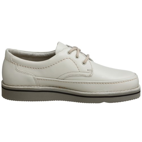 Hush Puppies Mens Centro Commerciale Camminatore Oxford Sport Bianco