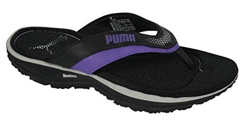 Puma Bodytrain Sandal Womens Flip Flop Black Purple (185771 01 D140) (5UK) hrgnurWZDk